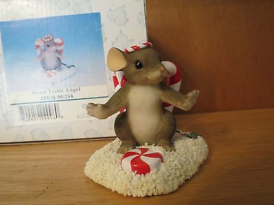 "Charming Tails ""Sweet Little Angel"" with Box Mint"