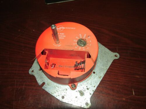 Sonceboz 0820R001 Chart Drive Motor 60MIN 96MIN 12HR 1D 2D 7D 8D 14D 16D 31D 32D