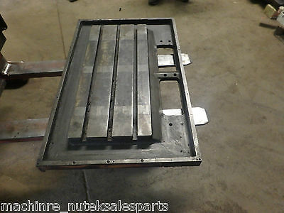30 X 13 Steel Weld T-slotted Table Cast Iron Layout Plate Jig Weld 3 Slot