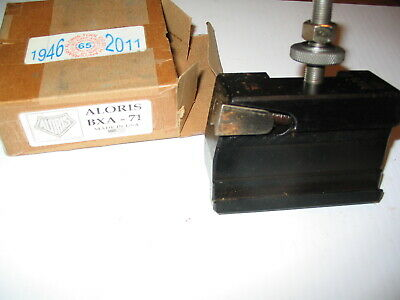 Aloris Bxa-71 Cut Off And Grooving Quick Change Lathe Tool Post Holder
