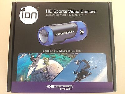 ION Air Pro Lite Wifi 1080P HD Sports Video Camera Waterproof -NEW