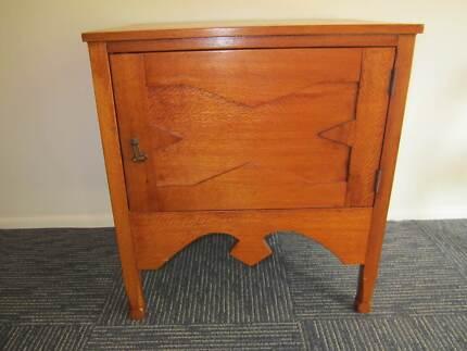 Silky oak chamber cupboard