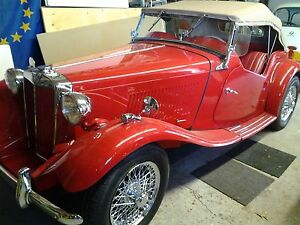 1952 MG TD ROADSTER, totally restored,matching numbers