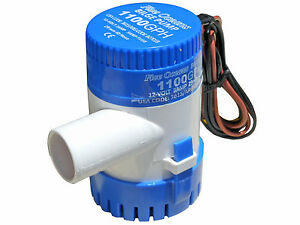 MARINE-ELECTRIC-BILGE-PUMP-12V-1100GPH-FOR-BOAT-CARAVAN-RV-FIVE-OCEANS