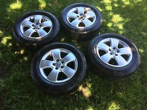 VW tires on rims for sale