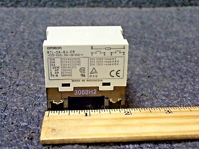 OMRON 100/120VAC,6-Pin Bracket Enclosed Power Relay, Screw Connection (JT) 120vac Power Relay