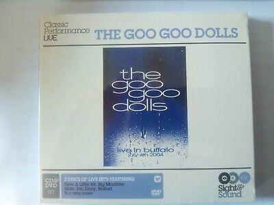 THE GOO GOO DOLLS / Live In Buffalo CD, Digipak DVD, DVD-Video, NTSC 2004