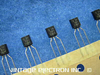 LOT OF (10) SAMSUNG   2N5401  Transistors: PNP, 0.6A (600 mA), 150V, TO-92