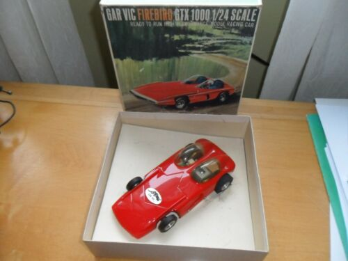 NOS Garvic Firebird slot car. New in the box. Gar Vic