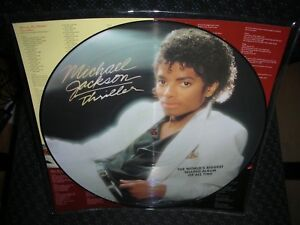 MICHAEL JACKSON **THRILLER **BRAND NEW PICTURE DISC RECORD LP VINYL