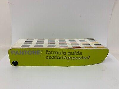 Pantone 1st Edition 2000-2001 Formula Guide Solid Coateduncoated