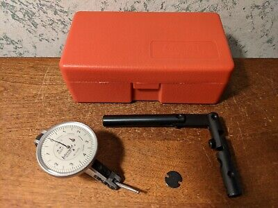 Interapid .0001 Inch Dial Indicator W Case-dog-leg Dial Indicator Holder