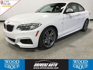 2017 BMW M240 i xDrive X-DRIVE AWD, M PACKAGE, RED LEATHER