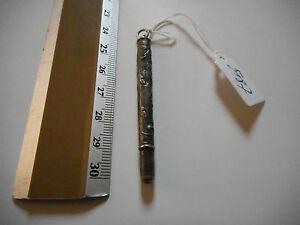 porte mine ancien porte crayon argent massif silver ref5187 ebay. Black Bedroom Furniture Sets. Home Design Ideas