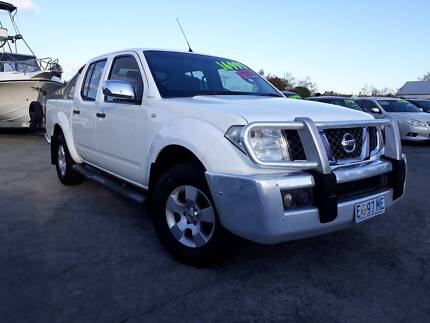 2007 Nissan Navara Ute, 6 speed manual, 4x4 Invermay Launceston Area Preview