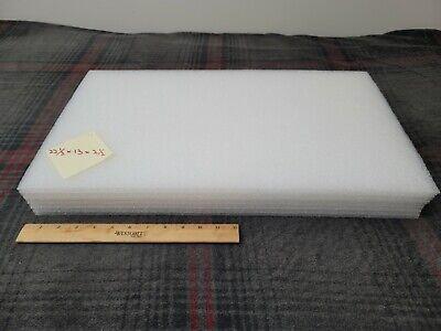 Large White Polyethylene Foam Sheets 22-12 13 2-12