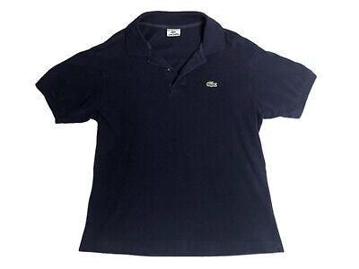 Lacoste Navy Blue Short Sleeve Polo Shirt Mens Size 5