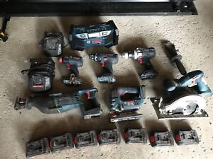 Bosch Cordless Power Tools & Batteries