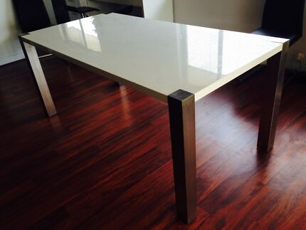 White Dining Table Banksia Grove Wanneroo Area Preview