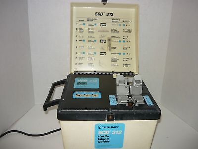 Tested And Working Terumo Scd 312 Sterile Tubing Welder