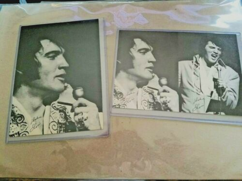 Elvis (2) Vegas Promo Postcards.