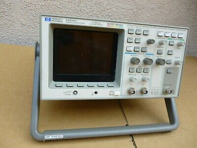 Hpagilent 54616c 500 Mhz Color Oscilloscope With 54657a
