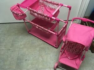 Double stroller and double bed