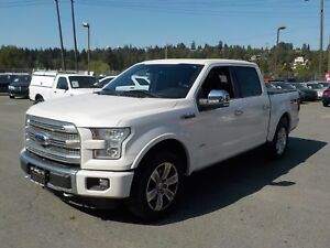 2015 Ford F-150 Platinum SuperCrew 5.5ft. Bed 4WD