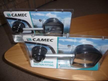 Camec Suction Cup Towing Mirror - Pair Lesmurdie Kalamunda Area Preview