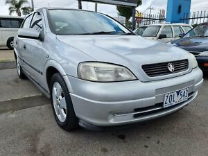 2002 Holden Astra TS CD Silver 4 Speed Automatic Hatchback
