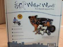 Mobility wheels for pet (dog) med size: rehab, disabled, handicap Thirroul Wollongong Area Preview