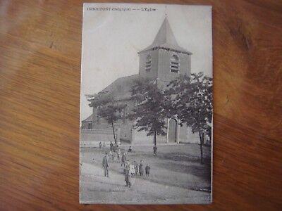 HENRIPONT ( Braine-le-Comte) Eglise 1908/région Ronquières Ecaussinnes Nivelles