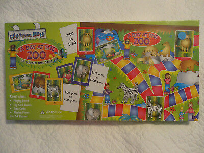 A Day At the Zoo, a Game About Elapsed Time Board Game NEW Sealed Elapsed Time Game