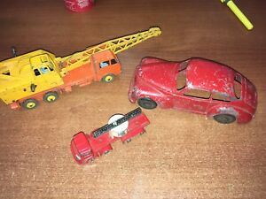 Vintage die cast car toys