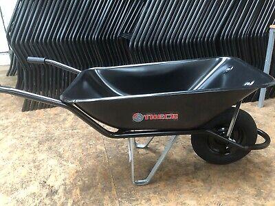 110L Sand Capacity Heavy Duty Builders Wheelbarrow 110 Litre Builder Wheelbarrow