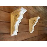 RUSTIC FARMHOUSE CORBELS / BRACKETS (BOOKEND SIZE)