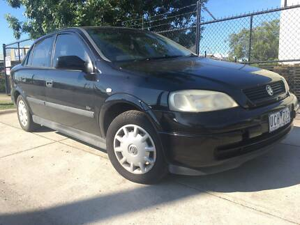 2002 Holden Astra City TS Automatic Sedan REGO AND RWC INCLUDED