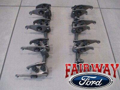 (08 thru 10 Super Duty OEM Ford 6.4 Powerstroke Diesel Rocker Arm & Pedestal PAIR)