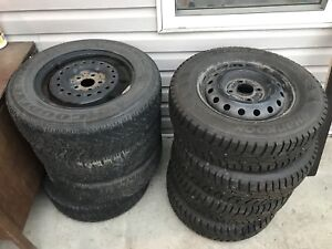 winter tires 2 sets