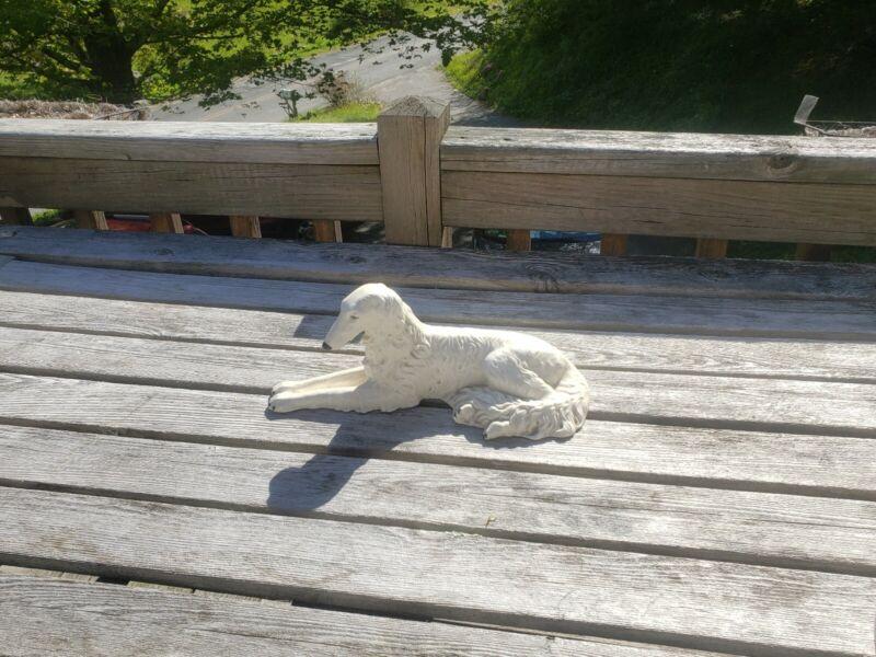 Russian Borzoi Dog Figurine