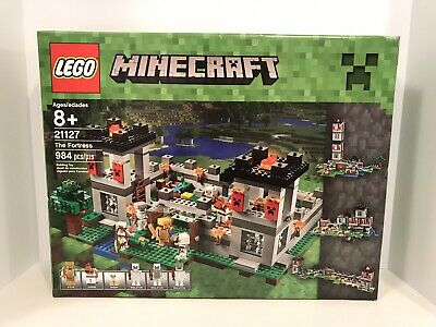 LEGO MINECRAFT 21127 THE FORTRESS Set Building Toy Retired NEW Sealed Mine Craft