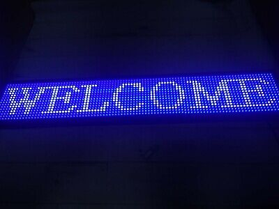 Ds Ledsign P10 Indoor Full Color Led Sign 39 X 7.5 Programmable Led