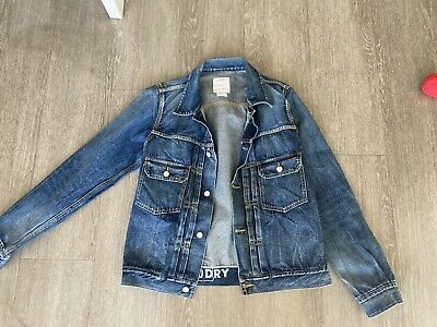 Visvim Dry Denim Jacket Size 2