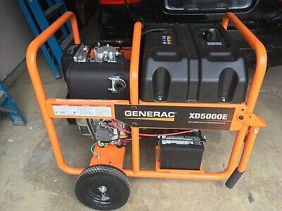 Generac Xd5000e Yanmar Diesel Generator 0.7 Hrs