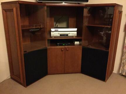 TV/Entertainment Unit Custom Made Broadmeadow Newcastle Area Preview