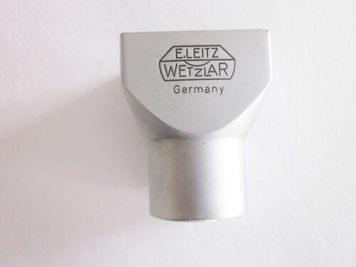 Leica E. Leitz Wetzlar SBLOO 12010 3.5cm Viewfinder Germany Chrome