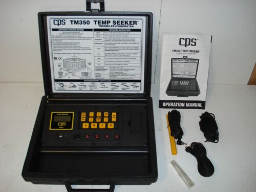 CPS TEMP-SEEKER THERMO-PSYCHROMETER TM350
