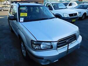 Subaru Forester 03/05 Auto Silver Wrecking at General Jap Spares Cabramatta Fairfield Area Preview