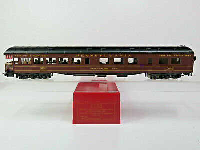 Observation Car 4496, Pennsylvania Railroad,beleuchtet,Rivarossi H0,2735,OVP, CE