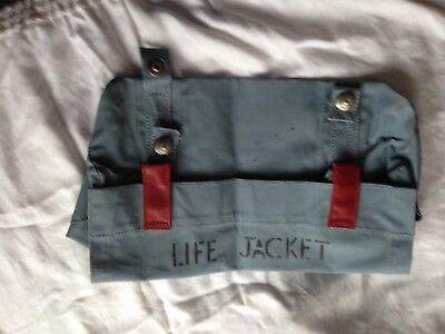 Ex RAF life jacket holder
